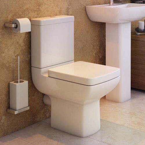Pure Short Projection Close Coupled Toilet & Soft Close Seat